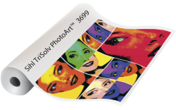 TRISOLVE PHOTOART GLOSSY PHOTO PAPER FOR SOLVENT INKS. 914X45M ROLL