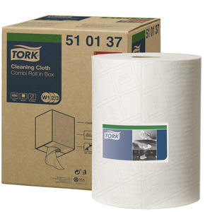 TORK 510 COMBI ROLL WHITE 510137