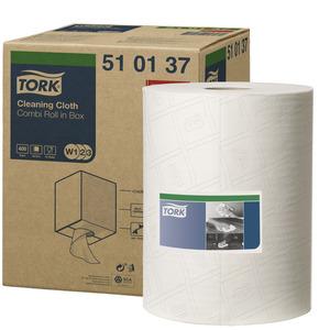 TORK 510 COMBI ROLL WHITE 510137
