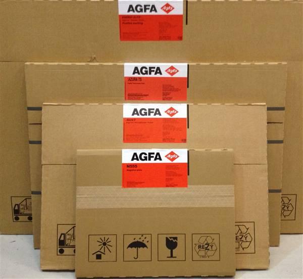 AGFA AZURA V PLATES .30 730X600 ( NEW )