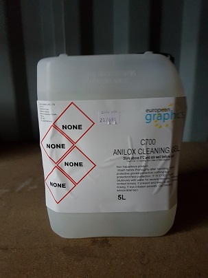 ANILOX CLEANING GEL 5 Litres