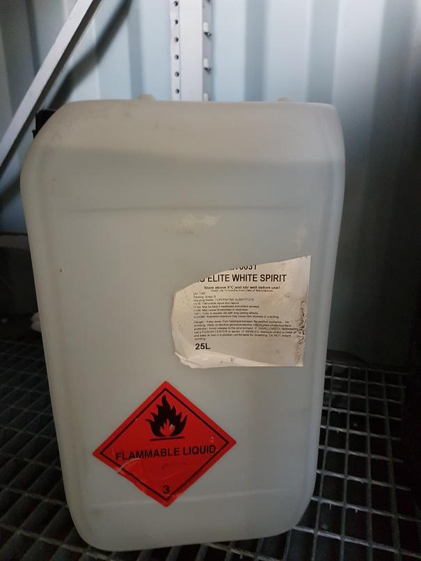 EG ELITE WHITE SPIRIT 25 litres