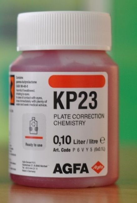 AGFA KP23 DELETION G 100ML