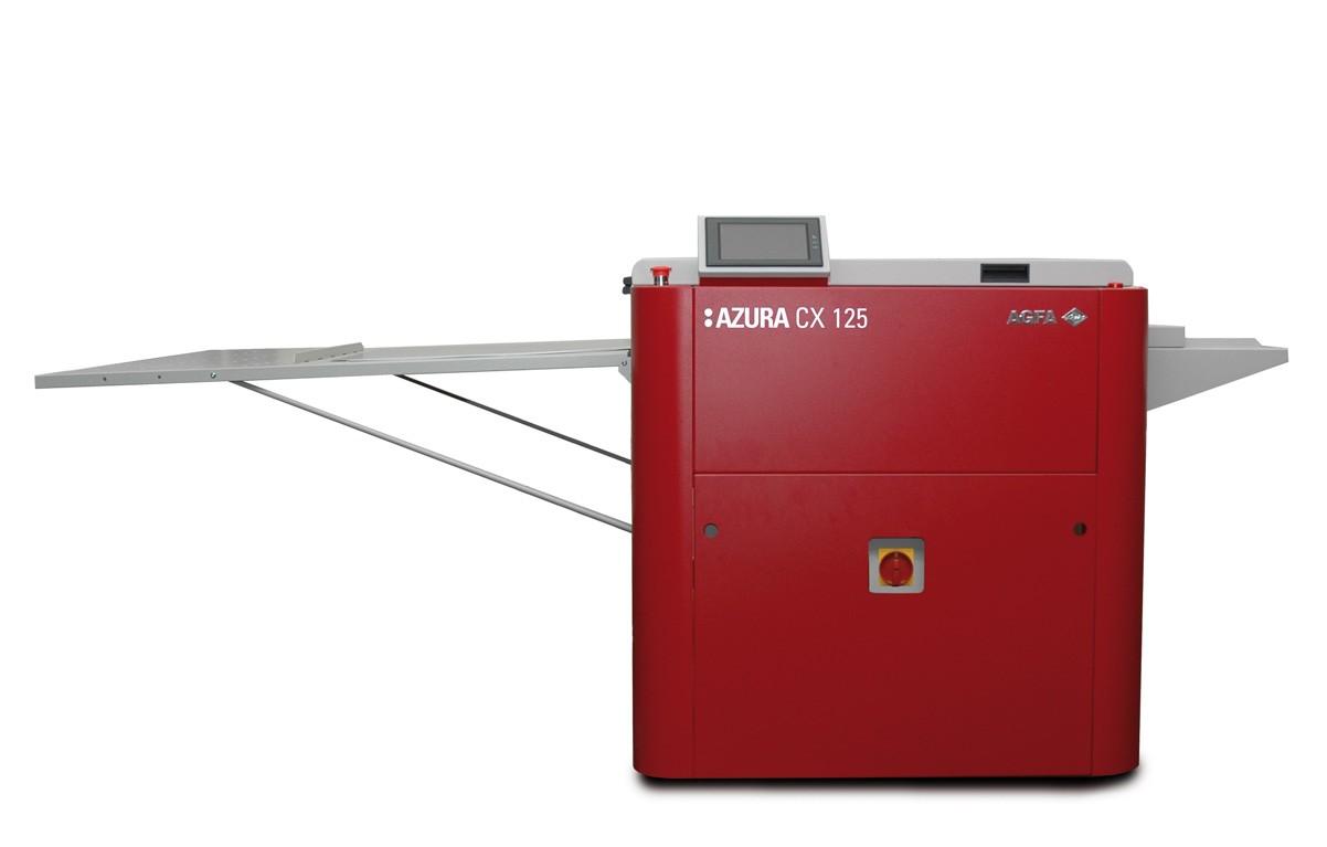 Azura CX85 - CX125 max plate size 850 x 310 Azura TS and TU plates