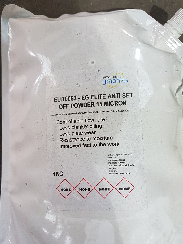 EG ELITE ANTI SET OFF POWDER 15 MICRON