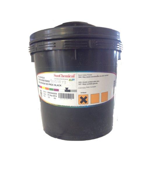 SOLARAQUA PMS 485C TO WS:DL02 INK MIX 5KG TUB